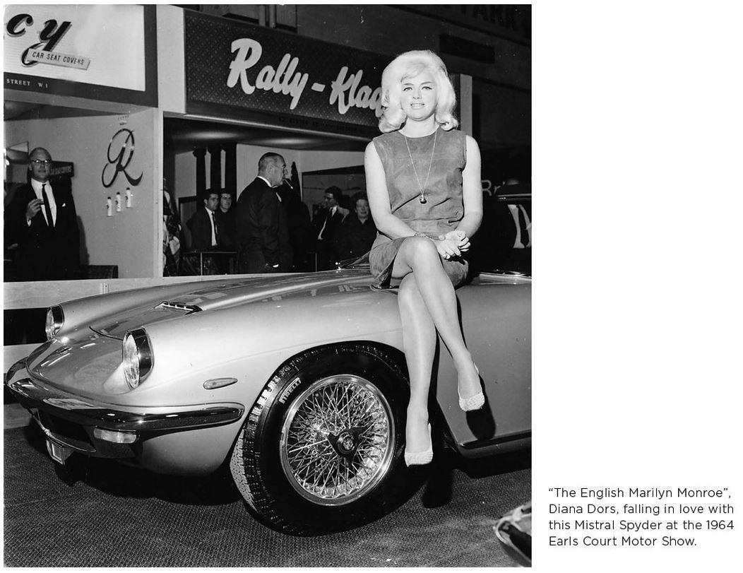 RM Sothebys On Twitter This 1964 Maserati Mistral 37 Spyder Was Sold New To Screen Icon Diana Dors The English Marilyn Monroe Rmlondon