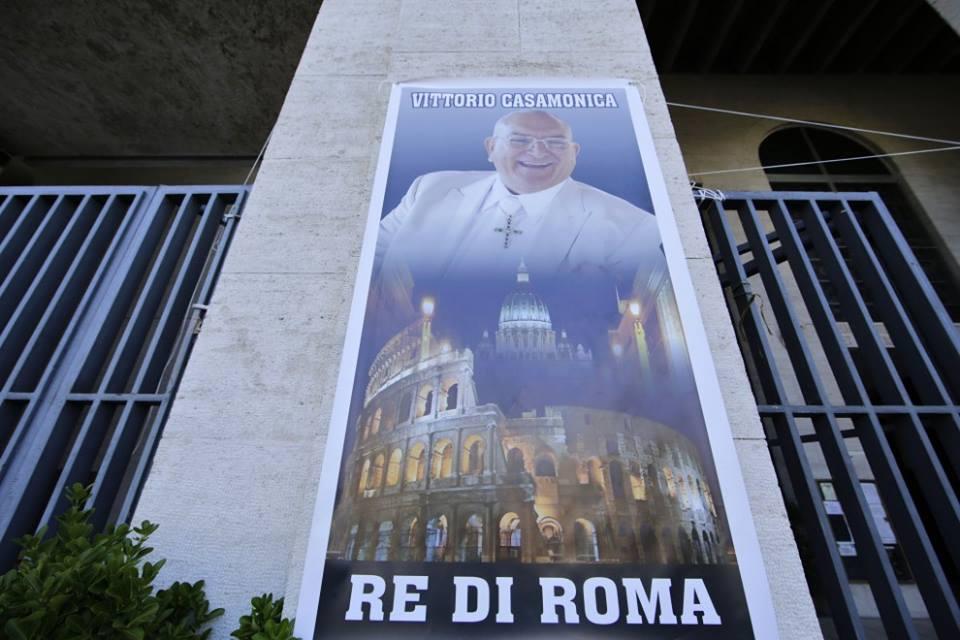 Il boss Vittorio Casamonica e' Re di Roma