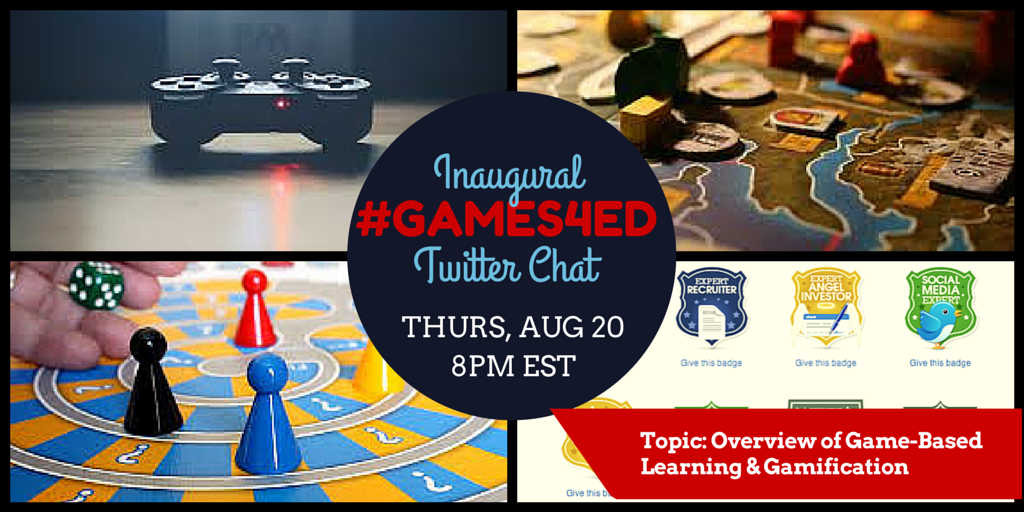 Thumbnail for #Games4Ed Inaugural Twitter Chat