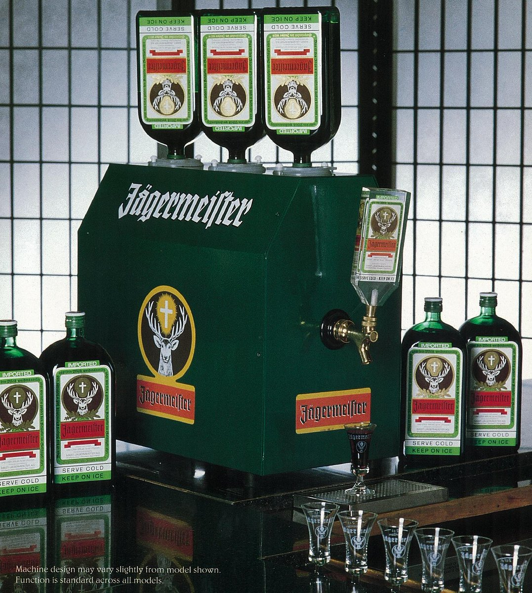 Jägermeister Usa On Twitter Old School Jager Tap Machine Tbt Http T Co Lzlnch3ahl