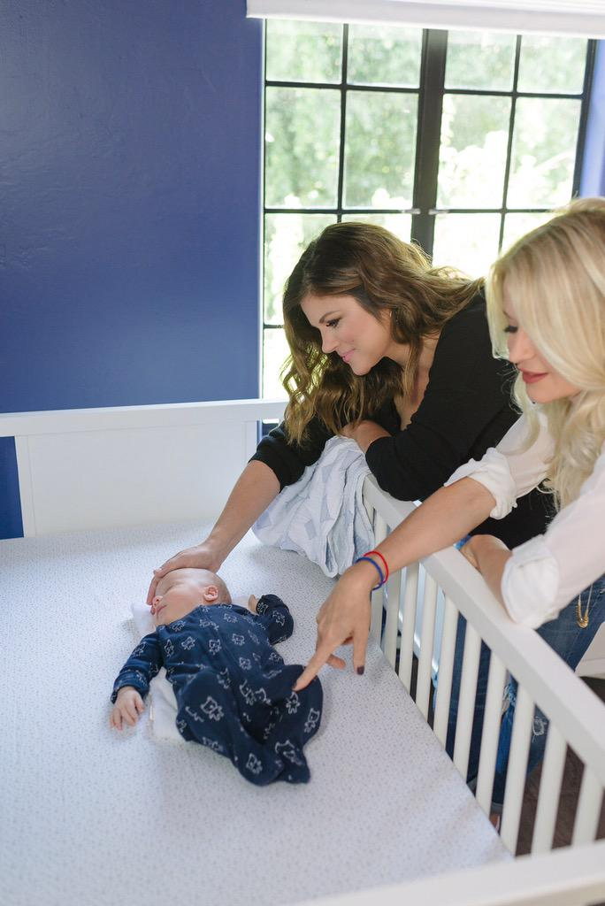 Come nursery design with @TiffaniThiessen and I on @YouTube http://t.co/cSqWgY5meO - gorgeous from @DwellStudioPR! http://t.co/zabndMHpS0