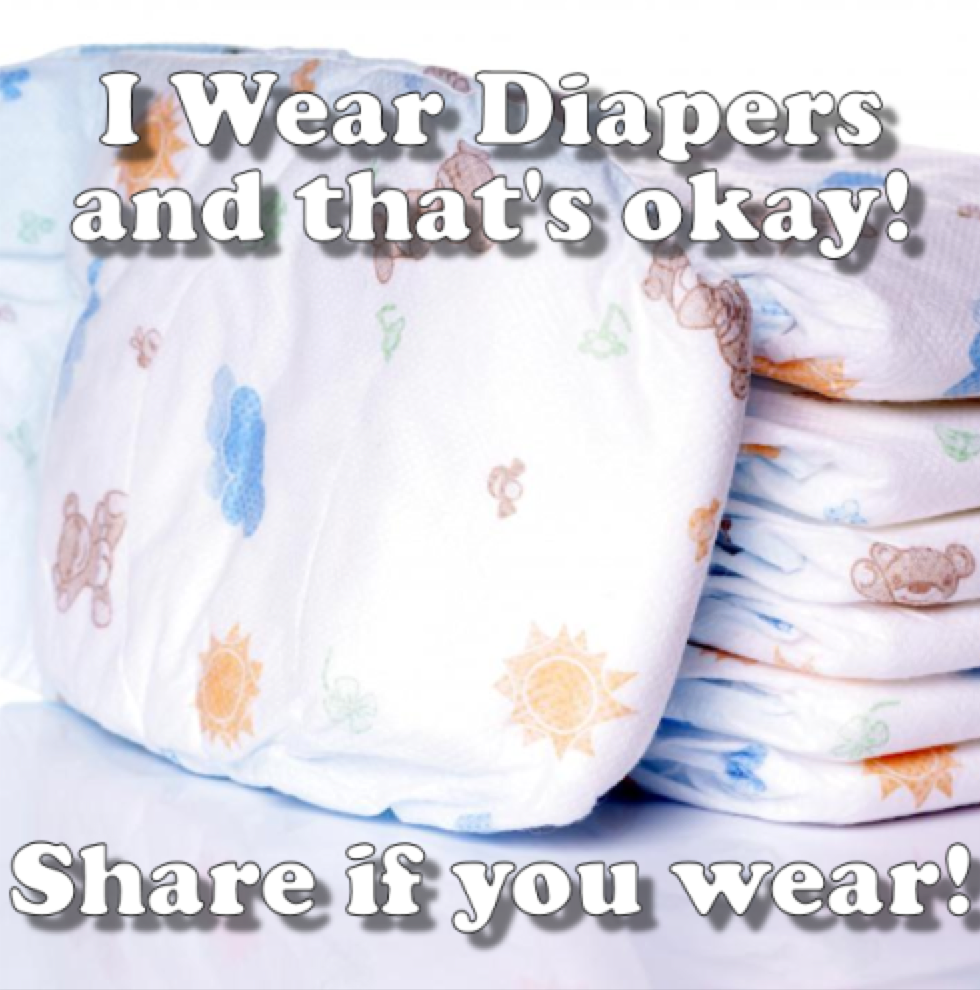 Diaper i am wearing a My Results