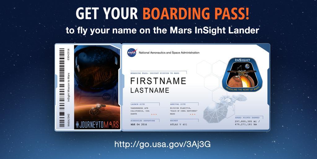 Avete la carta di imbarco per volare sul pianeta Marte? C'è tempo fino all'8 settembre per registrarsi on line