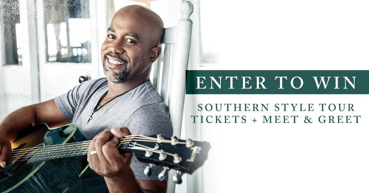 Darius rucker on twitter want to win a pair of tickets meet darius rucker on twitter want to win a pair of tickets meet greet passes for my southernstyletour this fall enterhttptpvzlomiepc m4hsunfo