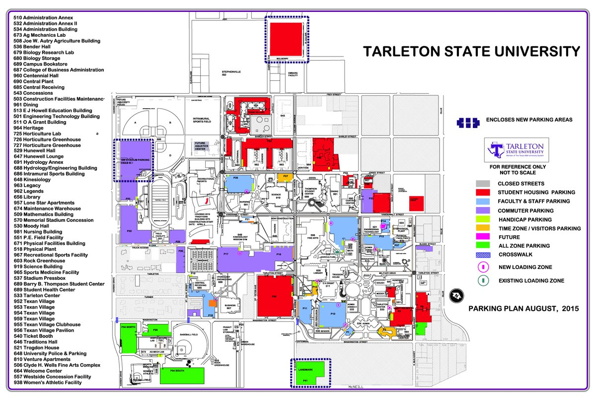 Tarleton State Map.Tarleton State University On Twitter Over The Summer We Replaced