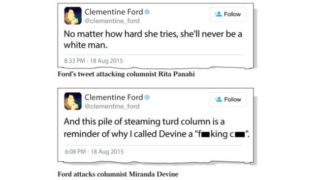 Fairfax: Mark Latham out but foul @Clementine_Ford's fine. http://t.co/jmknEgW90Q http://t.co/xwhJAp8zWp