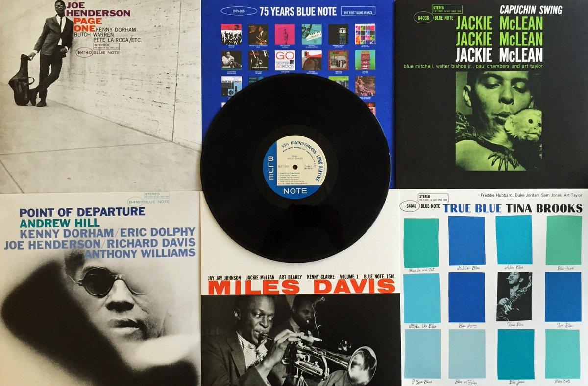 New Blue Note vinyl reissues! #MilesDavis #JoeHenderson #AndrewHill #JackieMcLean #TinaBrooks http://t.co/tdOciOb3nf