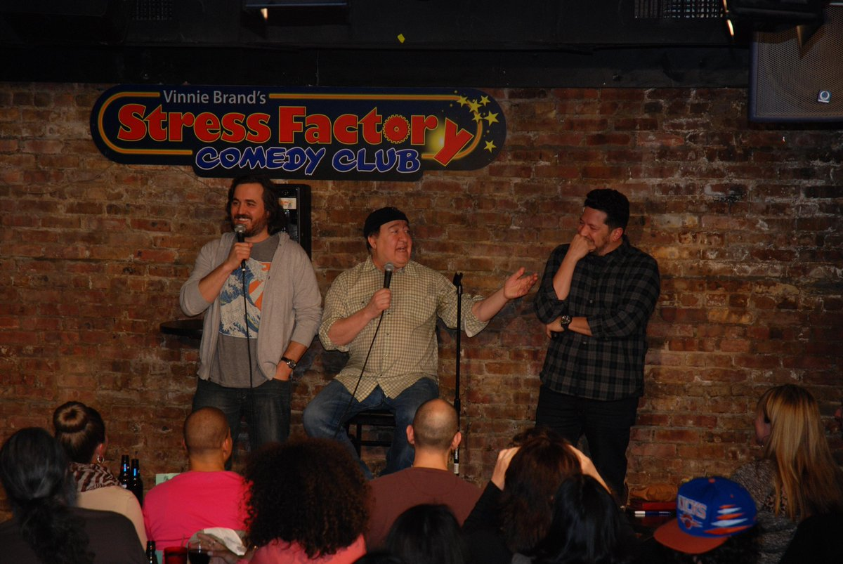 #tbt @domirrera's show last April when @SalVulcano & @BQQuinn stopped by for some improv. See Dom tomorrow & Saturday http://t.co/gWsUI1Dwf8