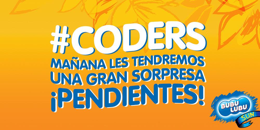 #Coders ¿Están listas para la mejor sorpresa del año? ¡No podemos esperar para contarles!