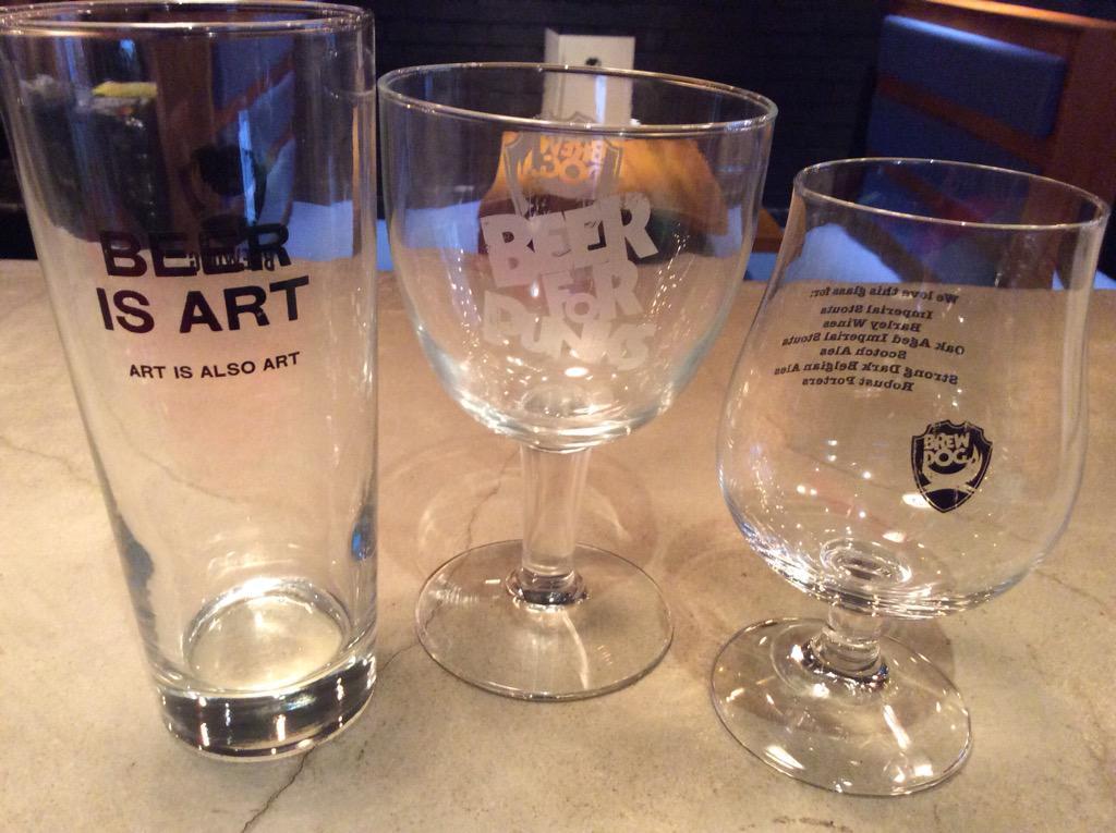 新商品入荷! 新しいグラスが入荷しました! New Glasses are in stock!  #brewpix