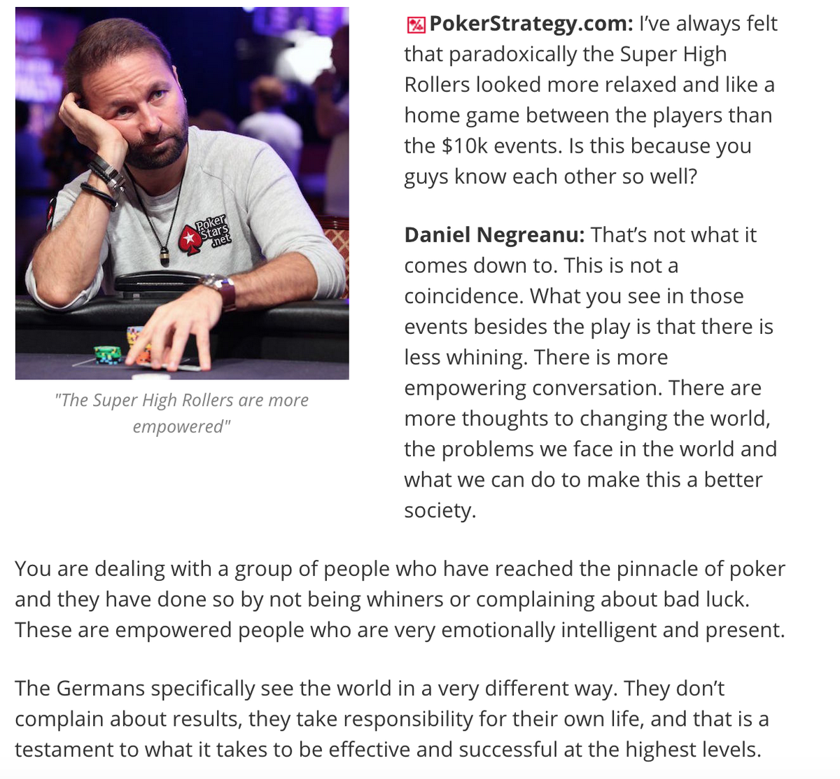 I interviewed @RealKidPoker this week. He really surprised me with this answer http://t.co/D8KWac95KQ http://t.co/b2QQXQmTWh