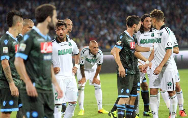 Sassuolo-NAPOLI info Streaming Diretta TV oggi (Partite calcio Gratis Serie A)