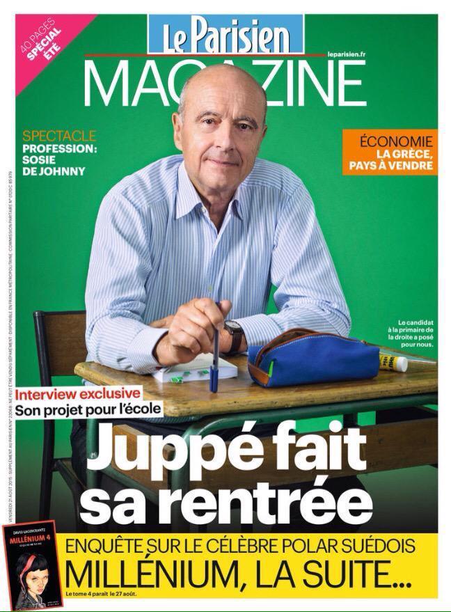 #Éducation. Les 10 propositions clés d'Alain #Juppé «Il faut mettre le paquet sur l'#école primaire.» #LeParisienMag pic.twitter.com/tbxThQzRts