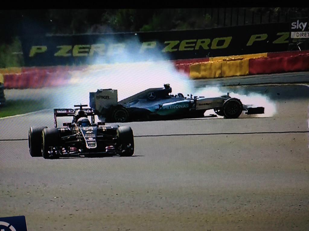 GP Belgio F1 2015: oggi qualifiche in Diretta TV alle 14 con Rosberg super carico dopo le libere di ieri