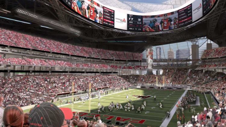 BREAKING: @MercedesBenz acquires naming rights to @AtlantaFalcons' new stadium http://t.co/f4t077DMOi @NFL #football http://t.co/Rai4b42q4t