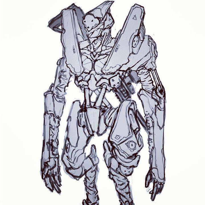 Android Robot Concept Art