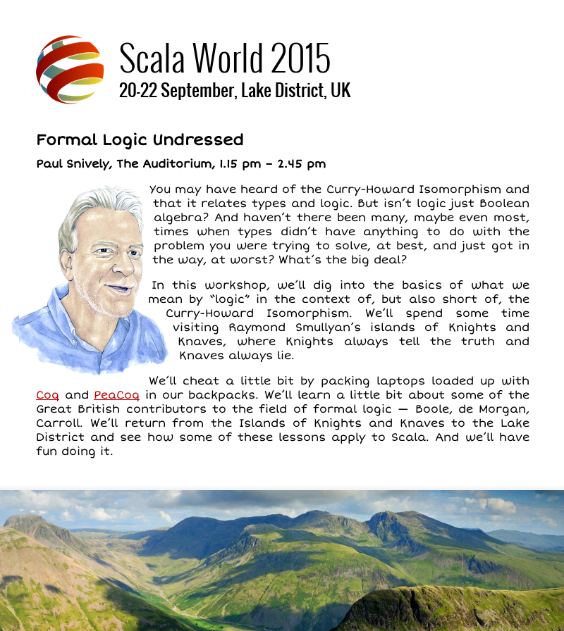 Scala World On Twitter Paul Snively Is Going To Undress Formal Logic For Us He S Got Something A Bit Special Planned Http T Co Xitt4cayaq To handle not only the sports persons or players can make a career in this very field, but also, the coaches however, like the entertainment industry, the rate of success in this field entirely depends on the skill. scala world on twitter paul snively