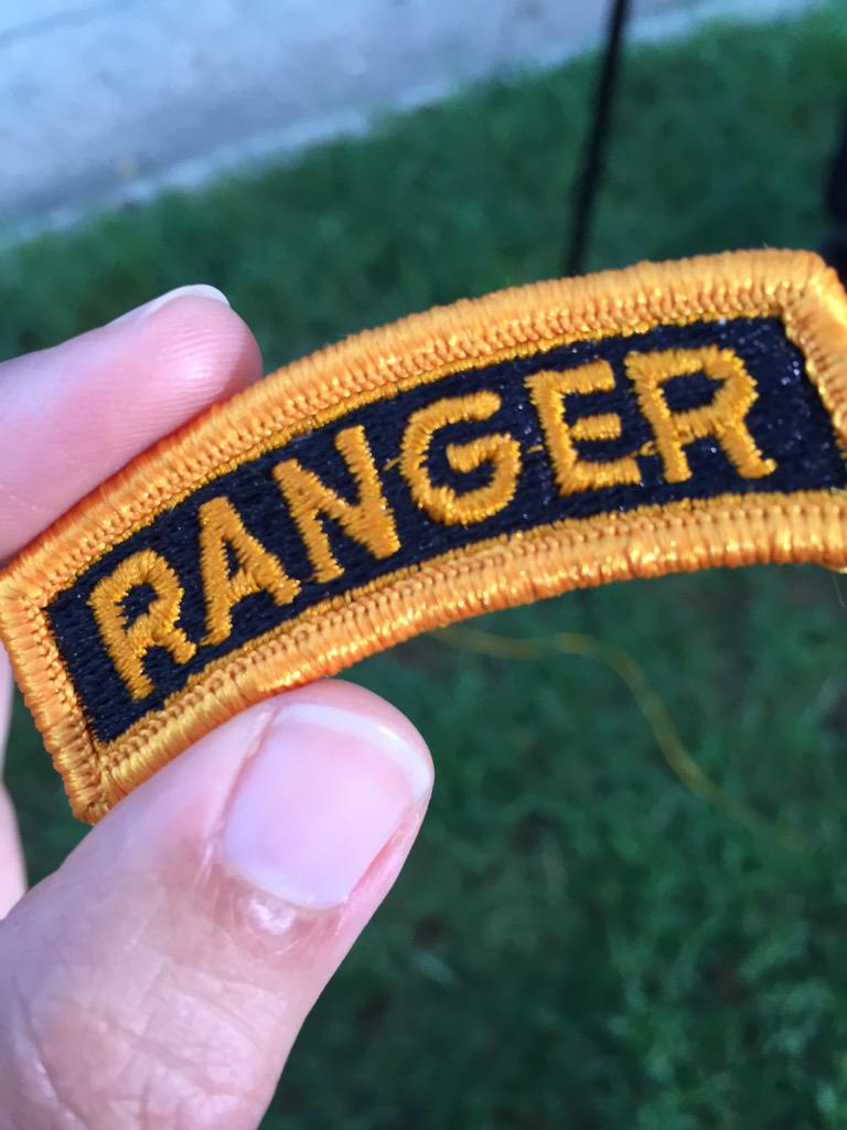 .@TODAYshow live at #FtBenning where the first female soldiers to earn this @USArmy #Ranger badge graduate this a.m. http://t.co/qmoH7WeTIq