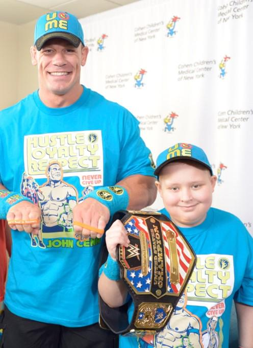 We join @MakeAWish in celebrating @WWE Superstar @JohnCena as he grants his 500th wish! #Cena500Wishes http://t.co/BbQlenSp2o