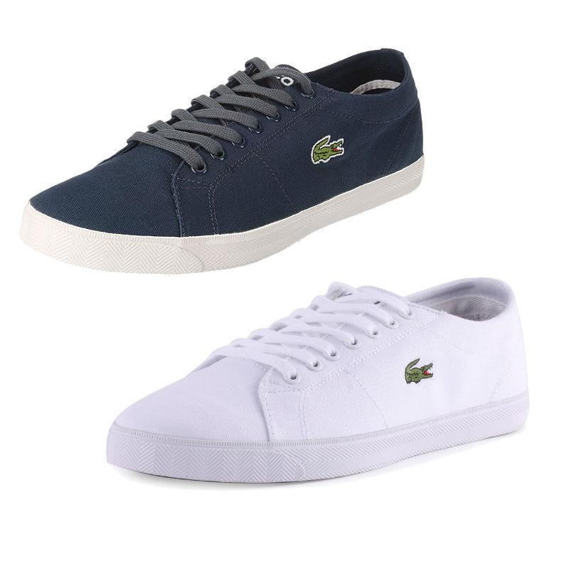 2481d471639c5e ...  lacoste marcel mens canvas shoes 3 colours only £41.95! look them up  in ...