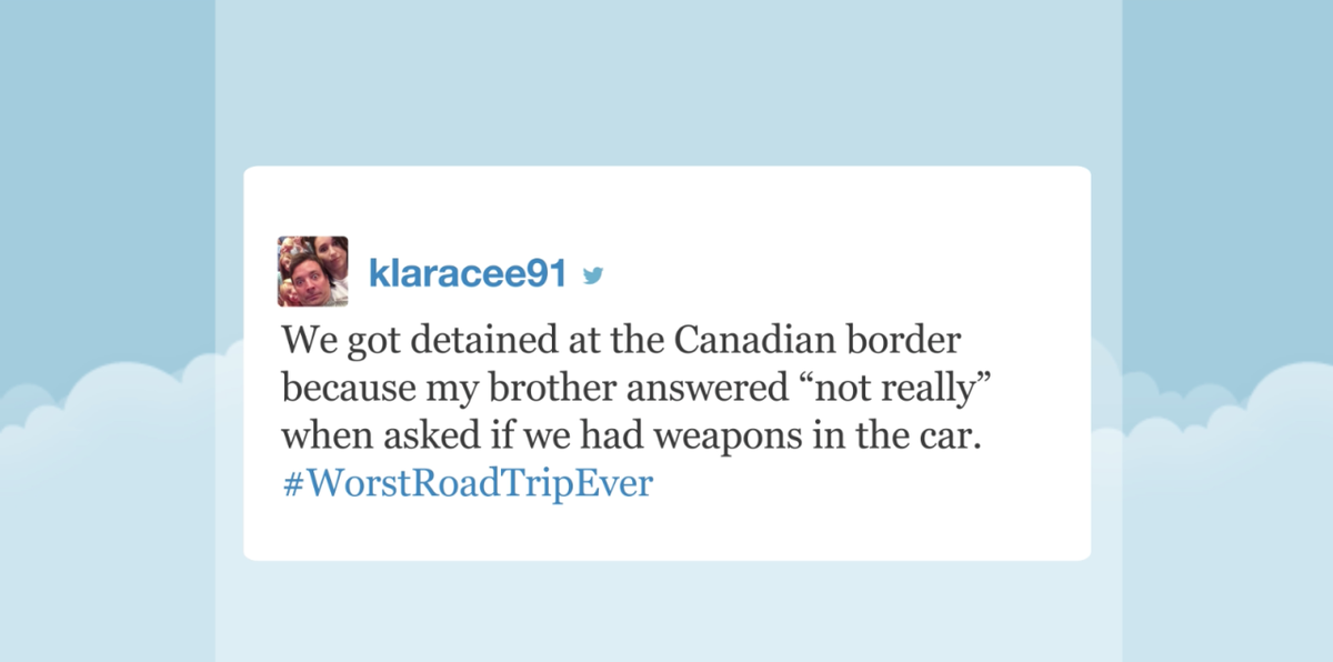 Are we there yet? Jimmy reads your #WorstRoadTripEver tweets https://t.co/pAqFaqnbjQ http://t.co/L2DGOOl99Q