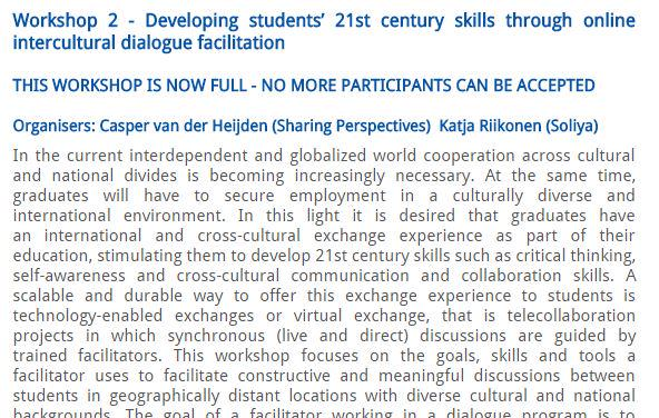 Getting excited for #eurocall2015 and seeing our #virtualexchange alumns! @KatjaRiikonen @Caspervdh http://t.co/k1CAjQqmJM