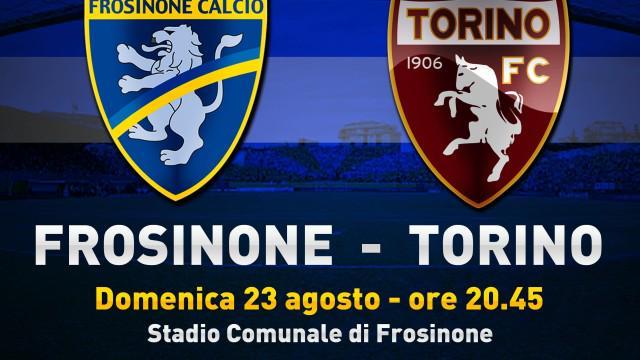 Frosinone-Torino probabili formazioni calcio Serie A