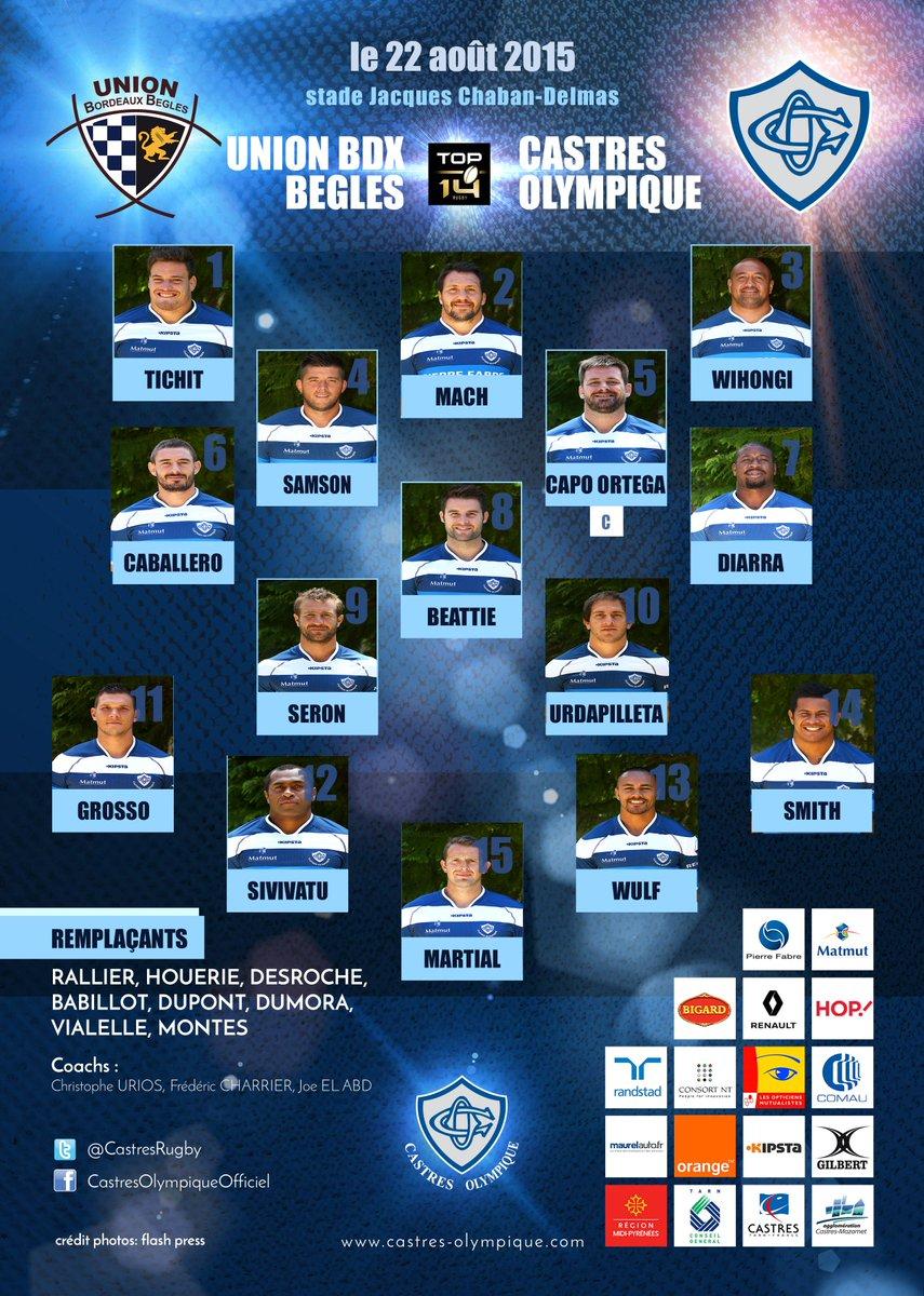 TOP14 - 1ère journée : UBB / Castres - Page 4 CM8nrArWIAErz5u