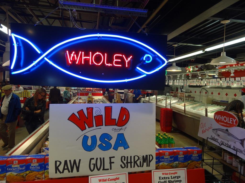 Wholey 39 s market wholeys twitter for Wholey s fish market