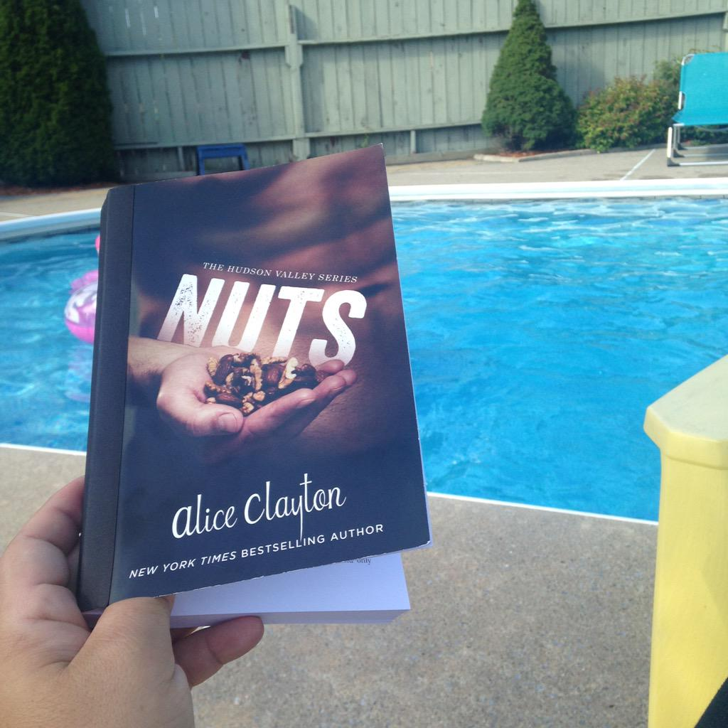 Just started NUTS by @alice_clayton and two pages in, I already know it's going to be a fun, funny read. #books http://t.co/uJJDgatr1F