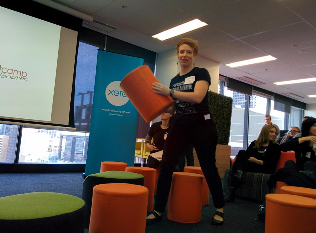 @liz_blink starting a ruck at @pcampmelb #pcampmelb http://t.co/DWnnihh6w0