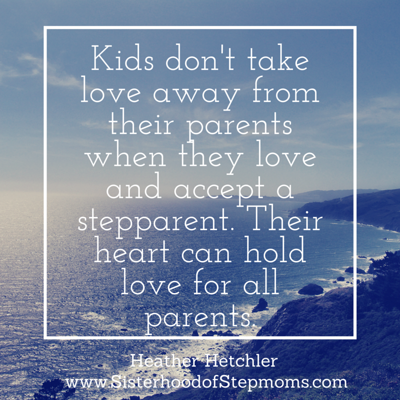 Co-parents: give your kids permission to love/ accept their stepparents. Your kids will never take love away from you http://t.co/BKs5TG4WOI