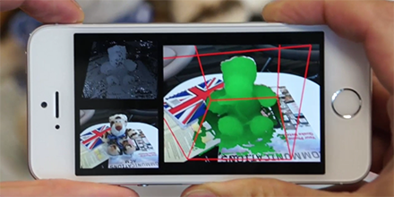 New research project would turn your mobile phone into a 3D scanner http://t.co/xIax87Y0iY http://t.co/dgiuYW6Yhe