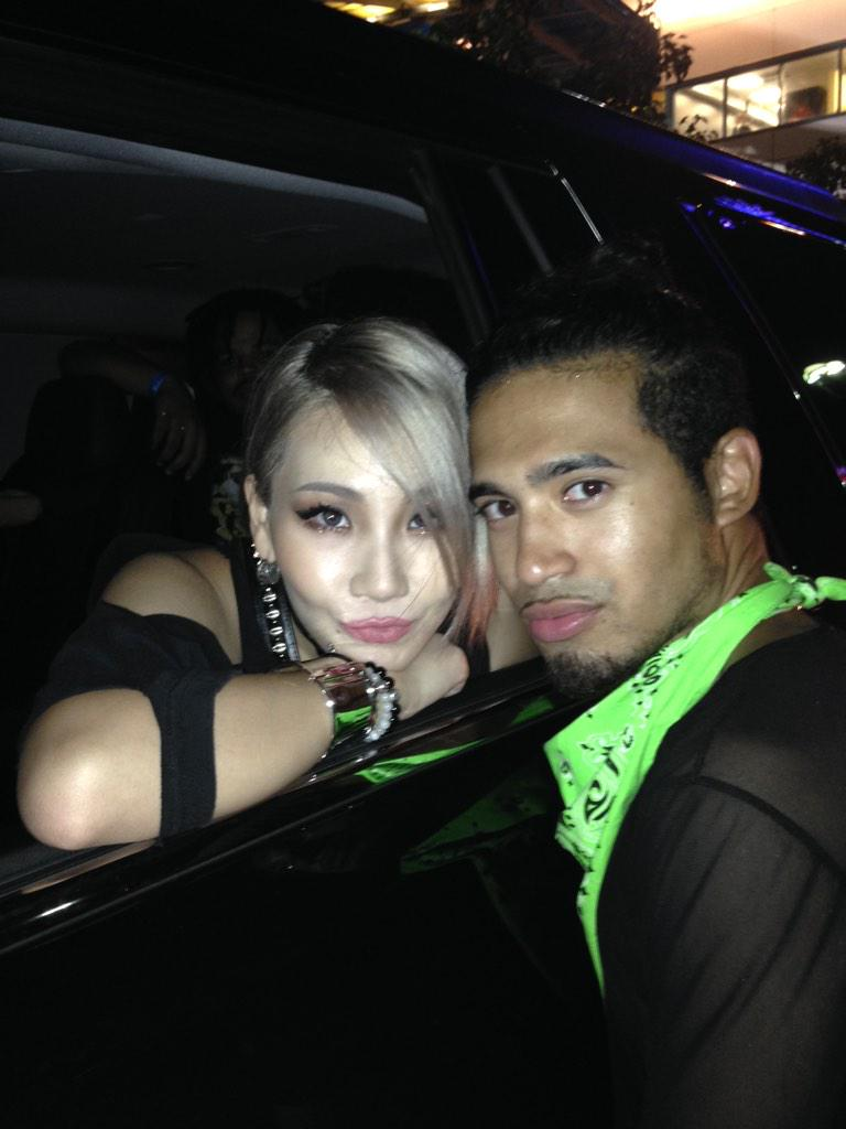 CL and I tonight