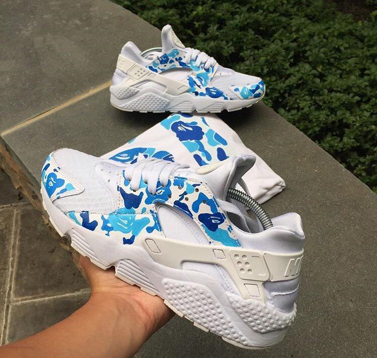Sneaker Pics On Twitter Bape Custom Huaraches Tco EZA0uYwlBY