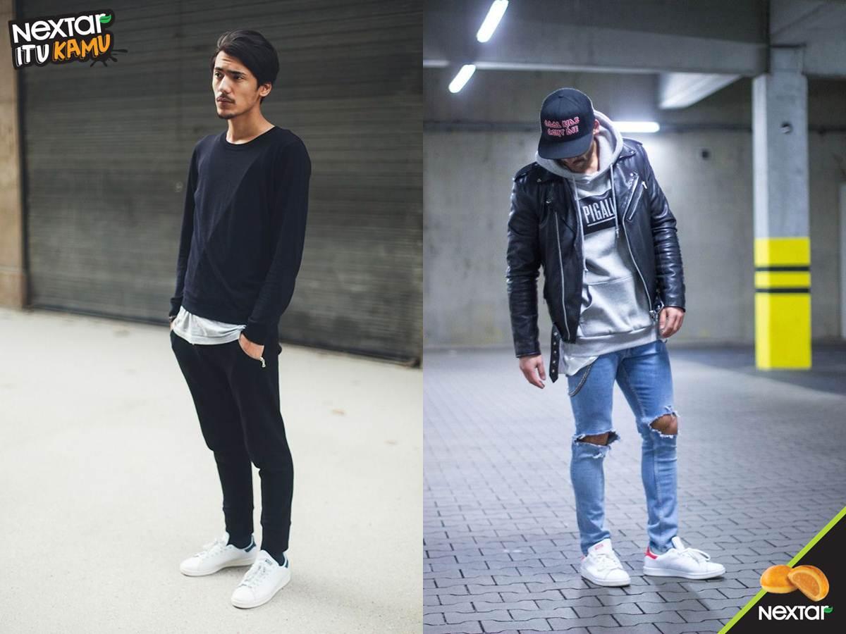 Nextar Indonesia On Twitter Cowok Suka Banget Style Simple Dan Casual Pake Celana Jeans Robek