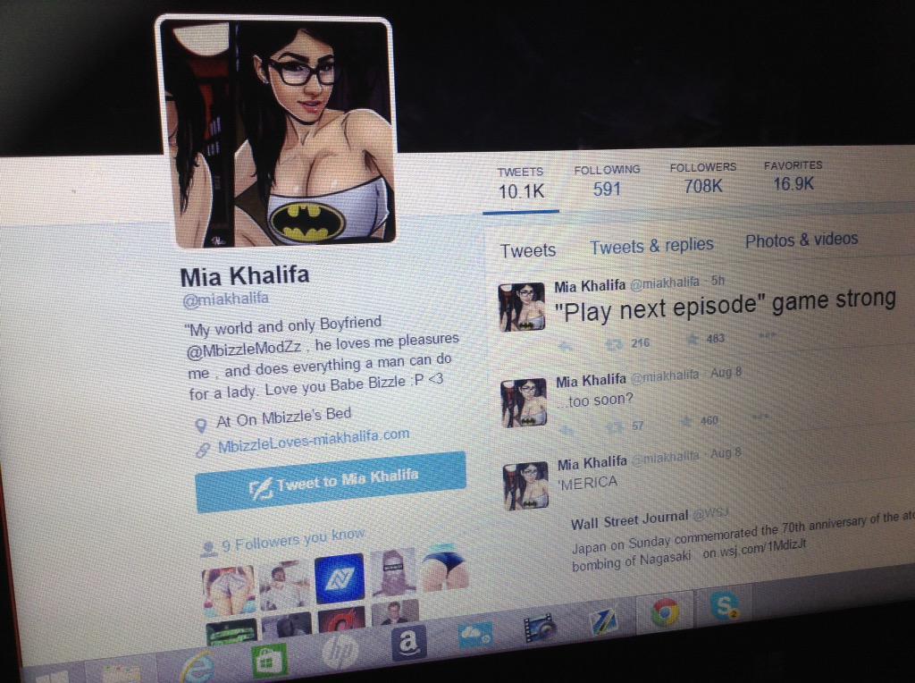 "MbizzleModzz on Twitter: ""The reason why Mia khalifa is my ..."