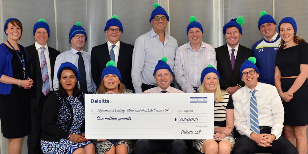 Congratulations to the #CharityChallenge team for raising over £1m for @MindCharity @alzheimerssoc and @ProstateUK