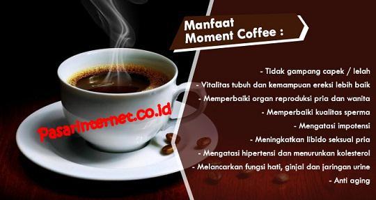 Manfaat dan khasiat moment coffee