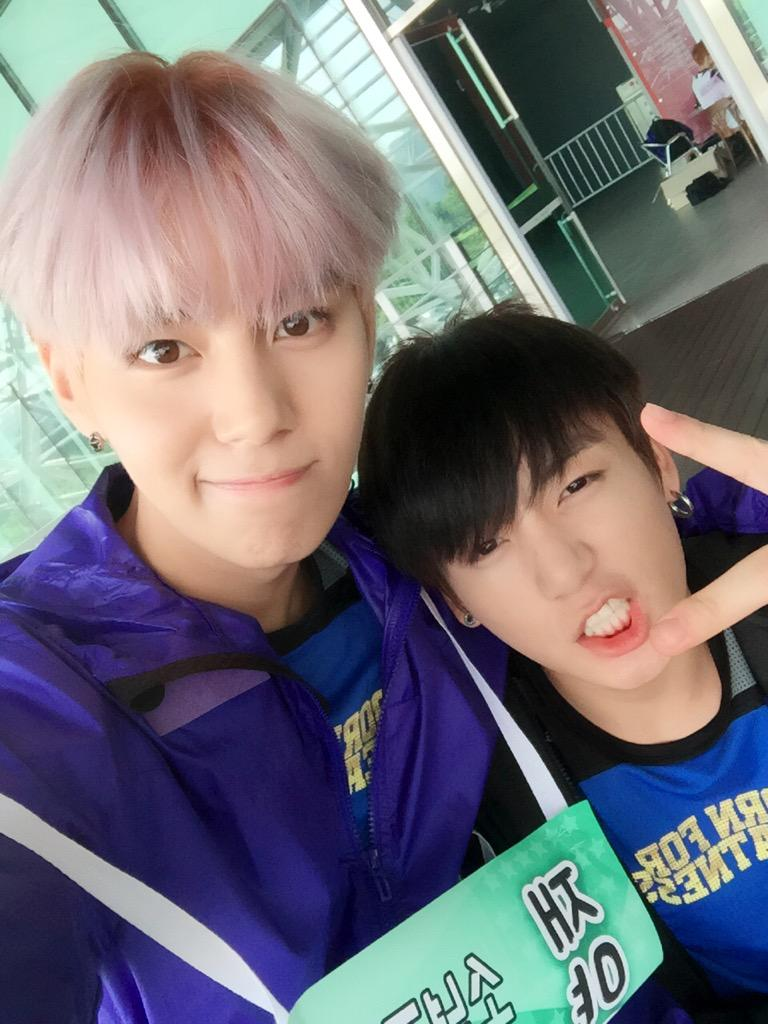 picture jungkook with suwoong boys republic 150810