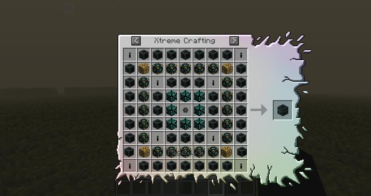 Minecraft Xtreme Crafting