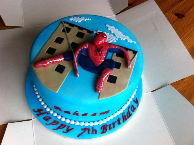 Carly Hynes Auf Twitter This Spiderman Cake Is Number 78 Baked