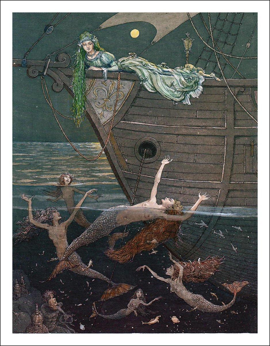 Αποτέλεσμα εικόνας για the little mermaid illustrations