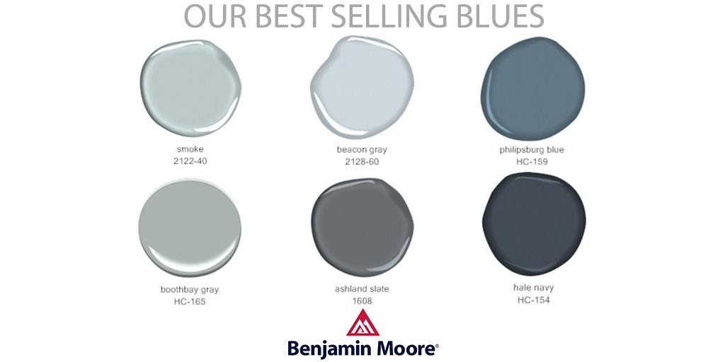 benjamin moore on twitter from tranquil to bold these. Black Bedroom Furniture Sets. Home Design Ideas