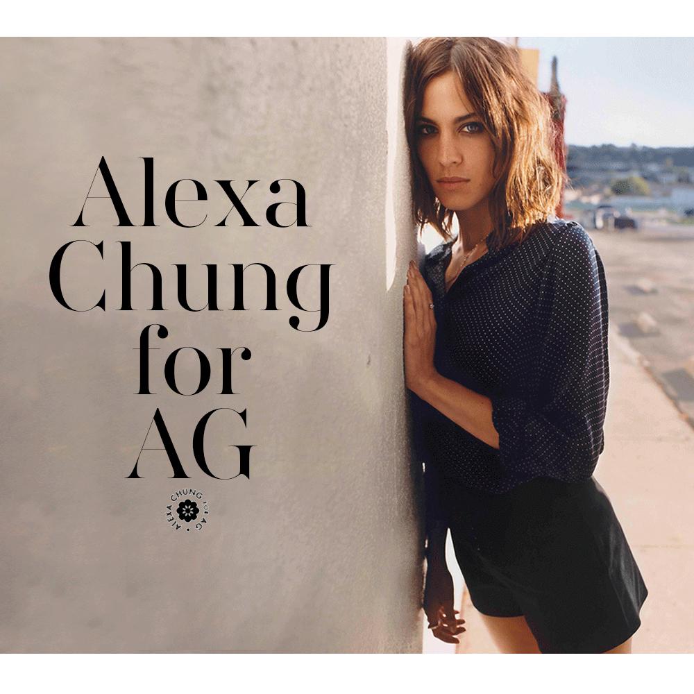 Loving the collection of @alexa_chung for @AGJeans! Shop your items now: http://bit.ly/alexaforag