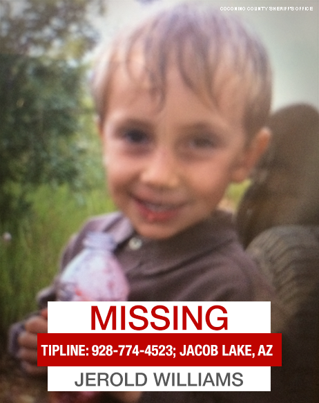 Jerold Williams, 5-Year-Old, Missing Since Thursday, August 6, 2015 - Coconino County,  AZ  CMDQ_v6WEAE9thW