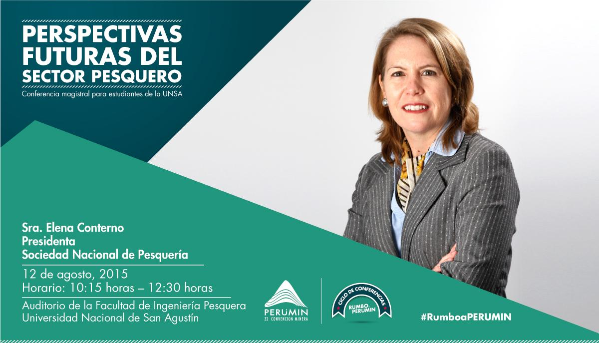 Thumbnail for ¡Elena Conterno dictó conferencia magistral en Rumbo a PERUMIN!