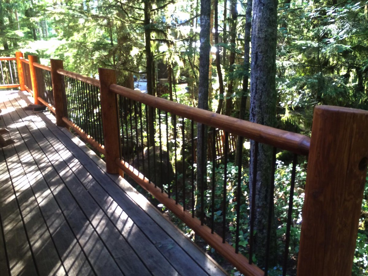 Rick Benson On Twitter The New Look Cabin Deck Railing Is Coming