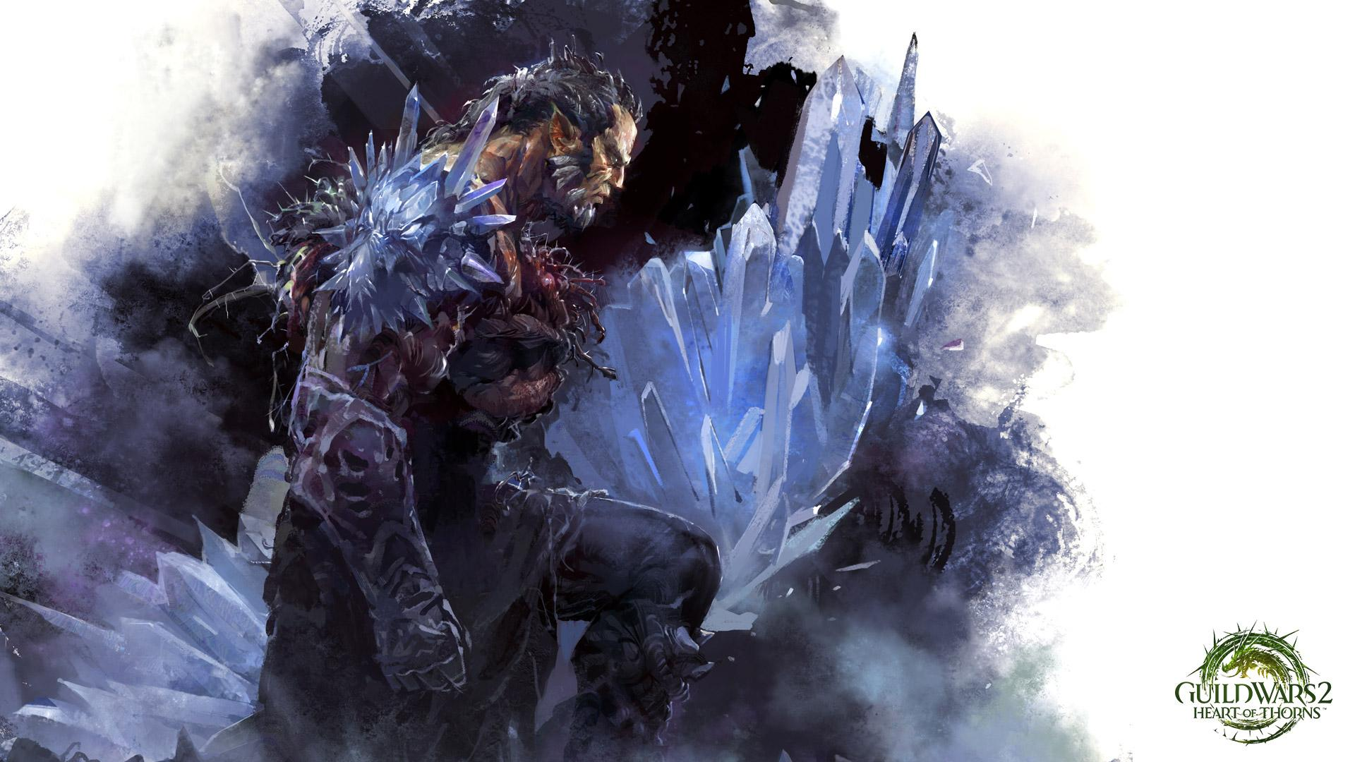 Guild Wars 2 Battle Monster Games Fantasy Warrior – Fondos de Pantalla