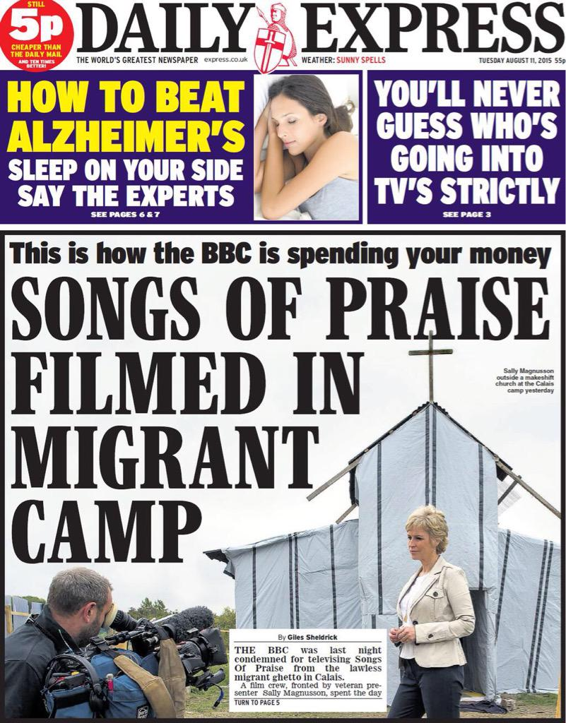 Well, the Jesus I know is the Jesus of the Migrant Camp. http://t.co/2tycUawf8u